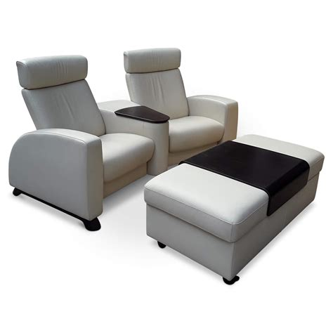 Kinosofa Arion07 (mit Hocker)  Stressless Sofas