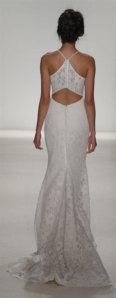 racerback lace wedding dress  kelly faetanini spring
