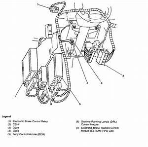 Alero Body Control Module Location