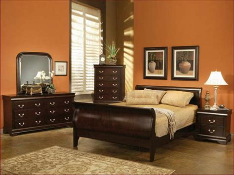 orange color bedroom paint colors for bedroom with furniture 12745