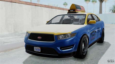 Gta 5 Vapid Stanier Ⅲ (interceptor) Taxi For Gta San Andreas