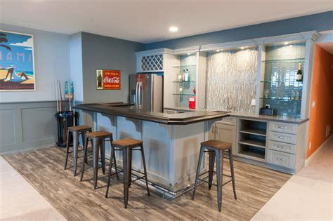 Basement Bar Island by Basement Bar With Island Luxury Vinyl Flooring And