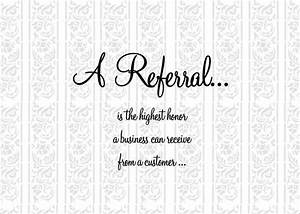 A Referral Than... Inspirational Referral Quotes