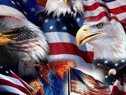 Eagle Flag American Statue Liberty Bald Star