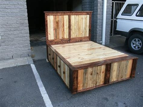 Size Pallet Bed Plans by Pallet Size Bed 1001 Pallets