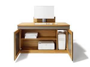 Mobiletto porta pc : Mobile porta computer in legno massello cubus