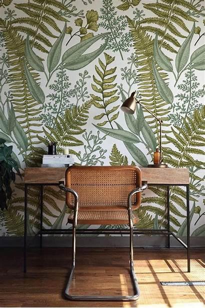 Botanical Fern Mural Ferns Walls Easy Stick