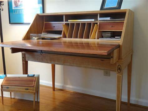 secretary desk plans home furniture design