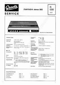 Graetz Fantasia Stereo 302 Radio 1973 Sm Service Manual