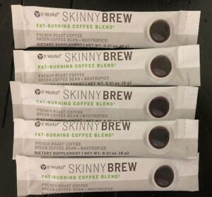 Would i say its worth the price tag, no, but if you're willing to pay it, it does what you need for a keto lifestyle. It Works Skinny Brew Fat Burning Coffee - 5 sachet   eBay