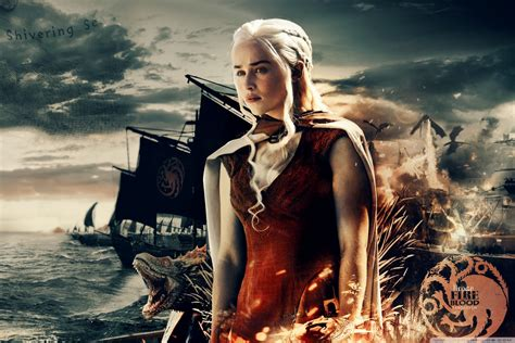 game  thrones khaleesi  hd desktop wallpaper