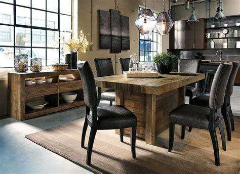 sommerford brown rectangular dining room set  ashley