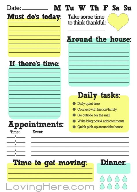 Do Home Work by How I Stay Organized A Work From Home Free Printable