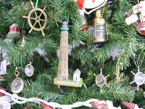 boone island lighthouse christmas tree ornament