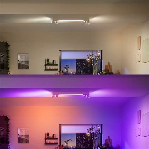 HUE CENTRIS indoor opbouwspots - Hoofdkleur: Wit | Vorm ...