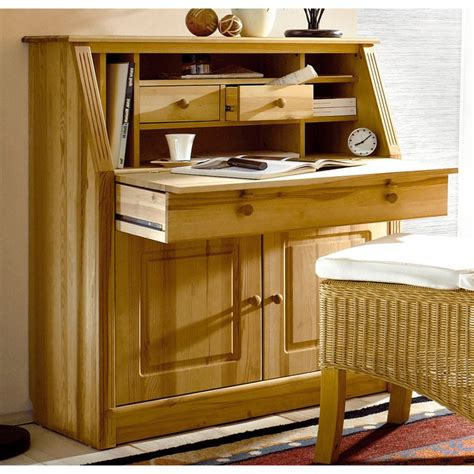 bureau secretaire occasion bureau secrétaire en pin massif home affaire pin home