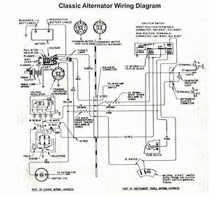 Car Alternator Circuit