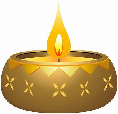 Diwali Candle Clip Clipart Diya Transparent Happy