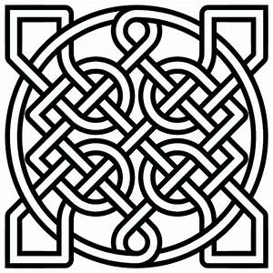 Free coloring pages of celtic knots