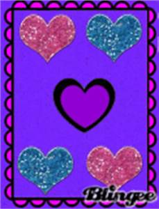 blue and purple hearts background Pictures [p. 1 of 1 ...