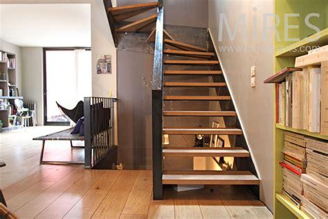 trompe l oeil moderne escalier moderne et palier en trompe l oeil c0891 mires