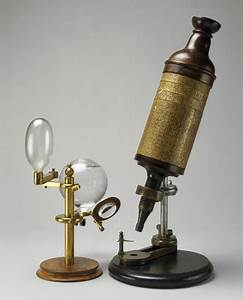 Hooke's compound microscope and its illuminating system ...