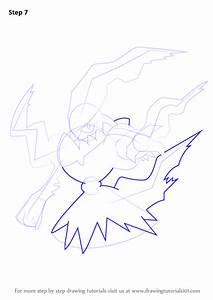 Learn How To Draw Darkrai From Pokemon  Pokemon  Step By