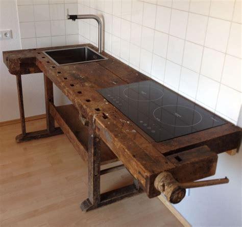 Vintage Möbel Küche by Loftm 246 Bel Industrie Vintage Werkbank Design K 252 Che In