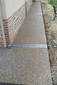 beton desactive pour les surfaces exterieures With idee allee de maison 10 bordure de jardin comment les realiser cate maison