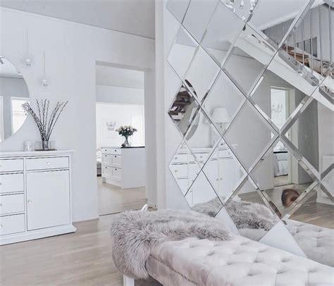 decorative mirror tiles  interior design