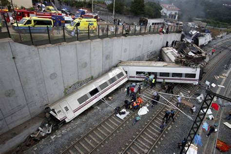 Spain Train Crash Cctv Video