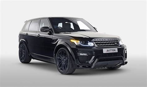 Pricing And Specifications Revealed For Sutton Range Rover