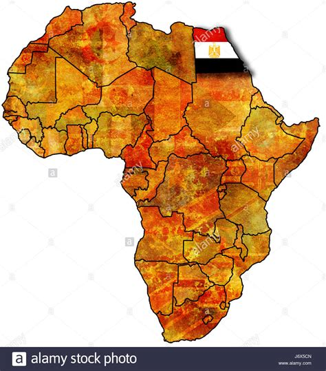 egypt  africa map stock photo alamy