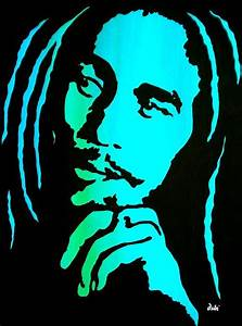 Bob marley clipart - Clipground