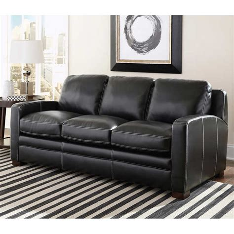 Black Leather Sleeper Sofa by Black Leather Sleeper Sofa Black Leather Sleeper