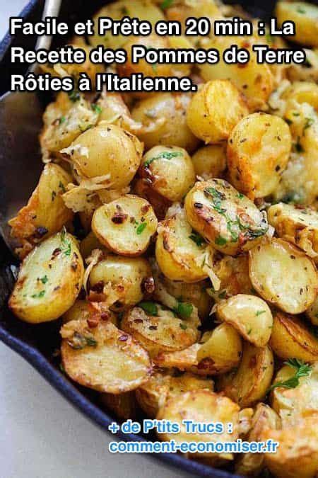 comment cuisiner la pomme de terre facile et prête en 20 min la recette des pommes de terre