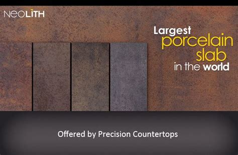 neolith porcelain slab countertop variety  finishes