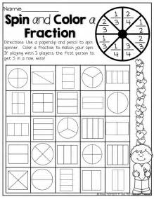 First Grade Fraction Activities