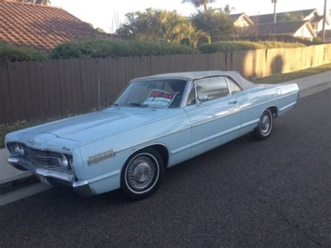 how do i learn about cars 1967 mercury cougar transmission control buy used 1967 mercury monterey convertible in carlsbad california united states for us 4 999 00