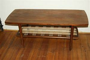 Table Basse Vintage Scandinave : table basse scandinave vintage goldies ~ Teatrodelosmanantiales.com Idées de Décoration