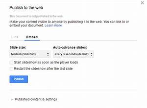 google docs presentation adds embed feature search With google docs explore feature