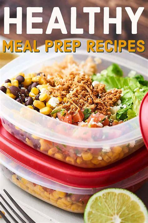 healthy meal prep recipes 2018 quick easy healthy