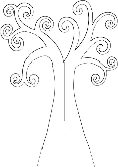printable tree template 16 best images about kandinsky circle on trees leaves and silhouette store