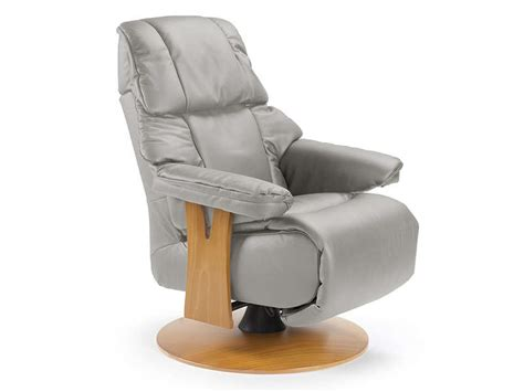 fauteuil relaxation manuel en cuir taille l colorado