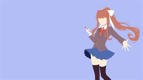 Wallpapers and backgrounds available for download for free. Monika   Wiki   Anime Amino