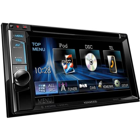 kenwood doppel din kenwood ddx 5015dab 6 2 quot din unit with built in dab tuner