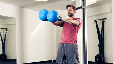 kettlebell double workout minute fat trouble swing coachmag styles