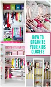 Kids Closet Organization Ideas - Design Dazzle