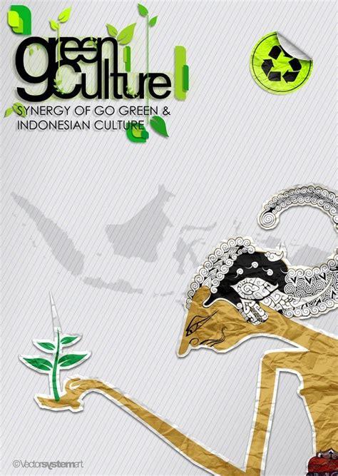 Anime Bertemakan Iblis 15 Contoh Gambar Desain Poster Lingkungan Quot Go Green