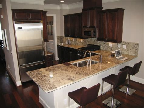 cherry cabinets with gray countertops cherry cabinets design ideas